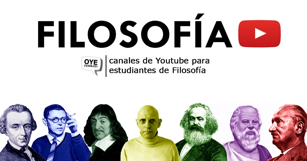 Cinco canales de Youtube para estudiar Filosofía