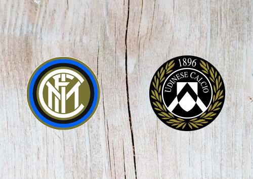 Inter Milan vs Udinese Full Match & Highlights 15 December 2018