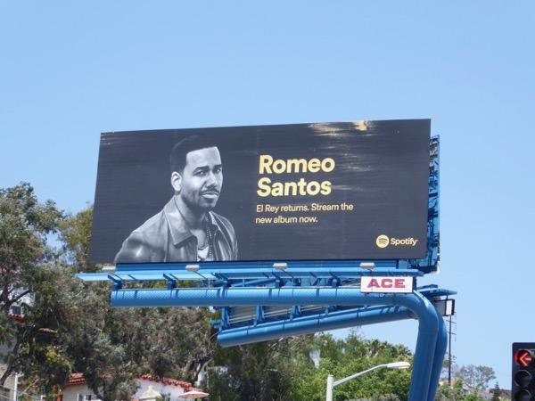 Romeo Santos Spotify billboard