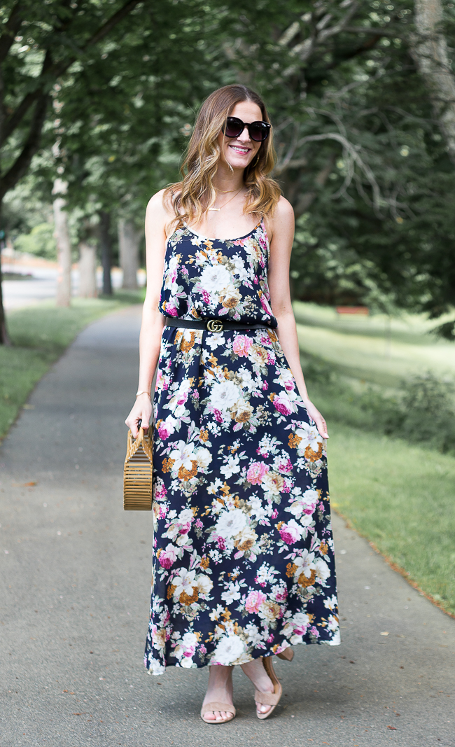 Floral Maxi Dress #summerdresses