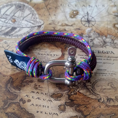 Pulsera náutica Lira -- Nautical bracelet Lira