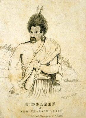 El jefe Te Pahi, también conocido como Tippahee