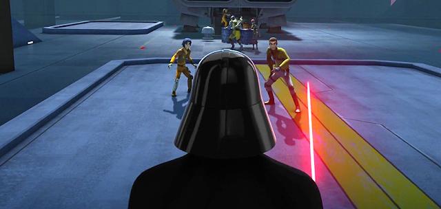 Rebelii se înfruntă cu cel mai faimos personaj negativ al universului Star Wars: Darth Vader