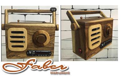 Radio Kayu Murah Buatan Cianjur Faber Instrument