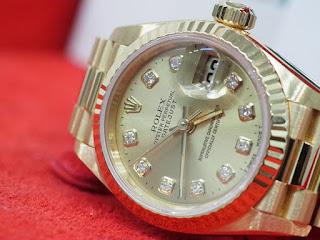 ロレックス レディスサイズ腕時計 69178G 750YG製 ダイヤモンドポイント お買い取り致しました