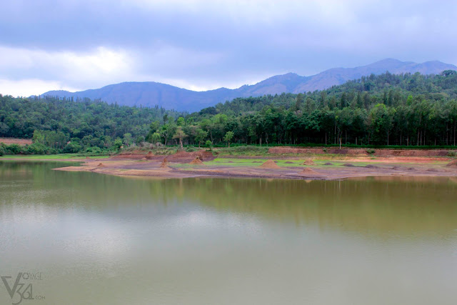 Hirekolale Lake with Mullayanagiri in Backdrop