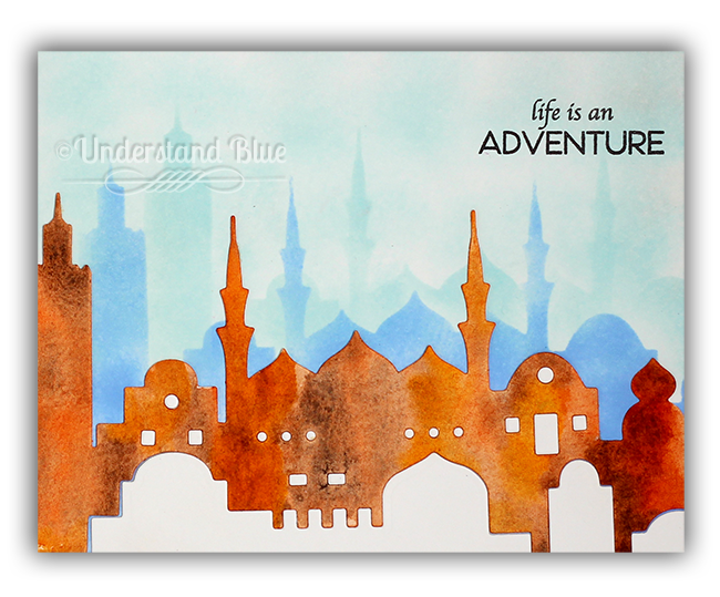 Life is an adventure card by Understand Blue