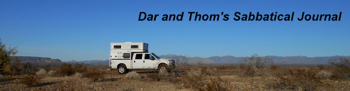 Thom and Dar's Sabbatical Journal