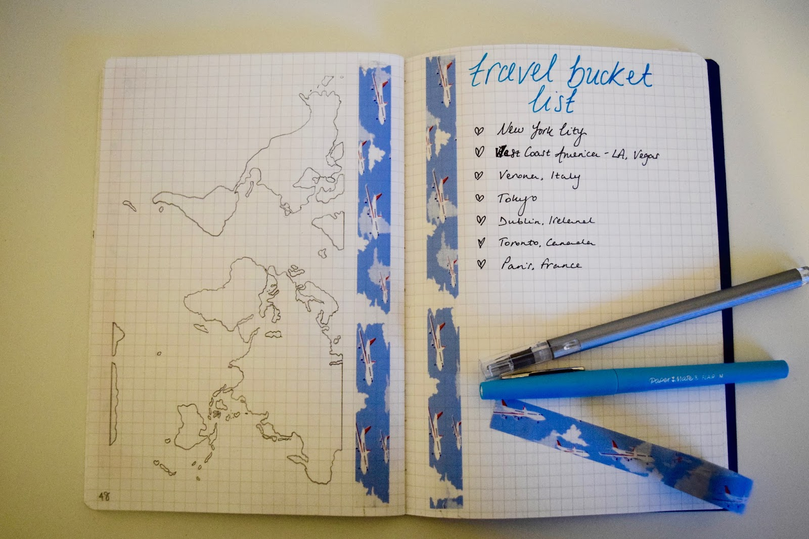 17 Ways To Decorate Your Bullet Journal on Bucket Filler