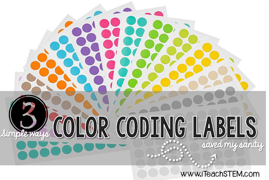 3 Simple Ways Color Coding Labels Saved My Sanity
