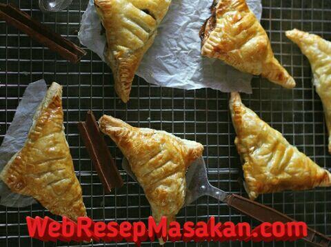 Banana Cinnamon Pastry, Resep Banana cinnamon puff pastry,