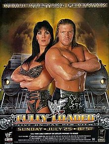 WWE / WWF Fully Loaded 1999 - Event poster