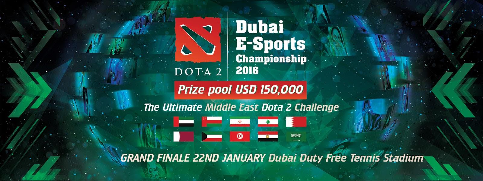 Dubai E-Sports Championship for DOTA2