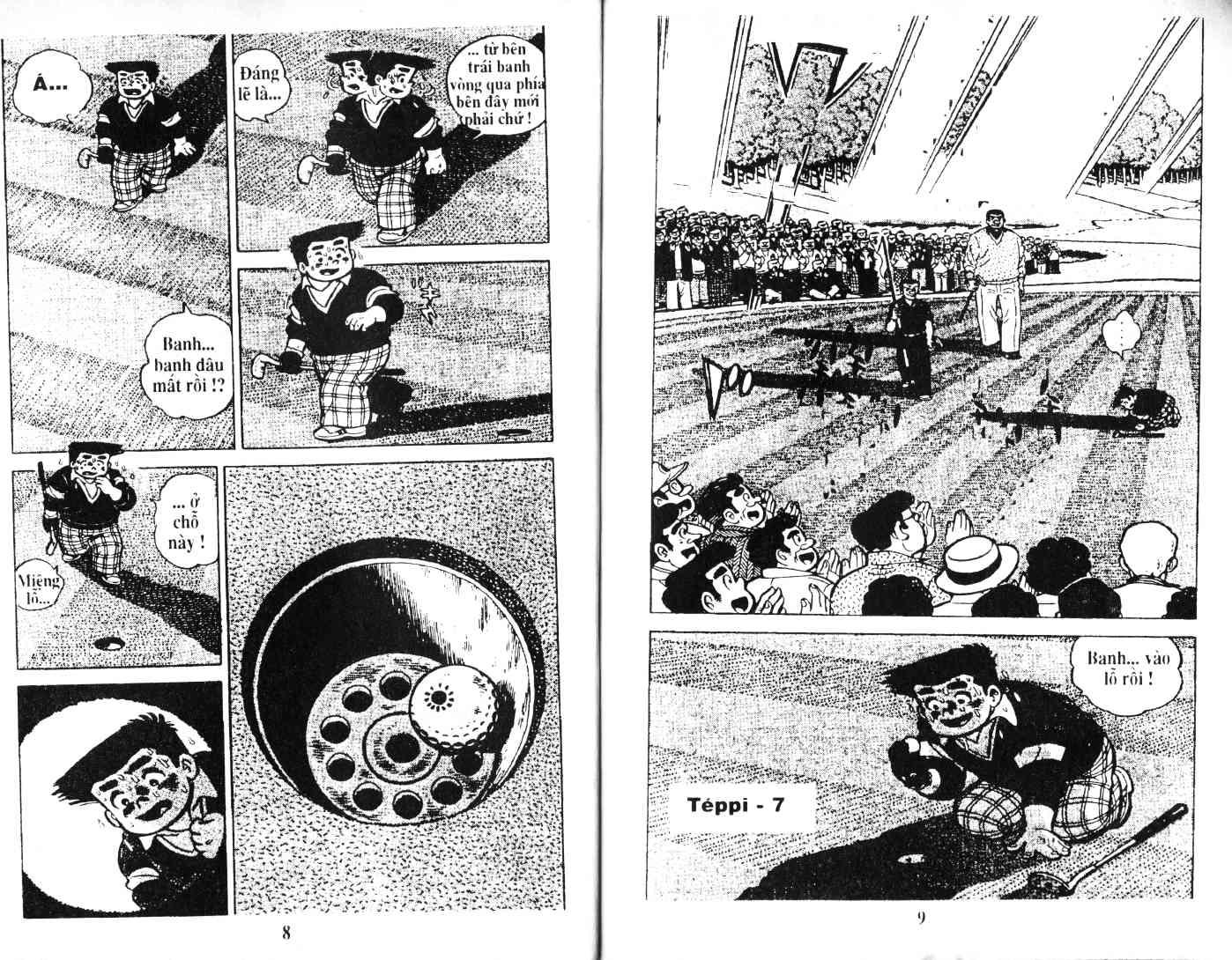 Ashita Tenki ni Naare chapter 35 trang 3