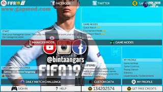 FTS Special Mod FIFA 19 by Bintang Ars Apk Data Obb Android