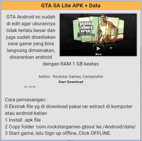 download game gta lite indonesia apk obb