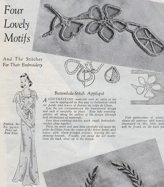 "vintage 1940s lingerie sewing pattern pdf booklet ""Pretty Pretties"" from Mrs Depew"