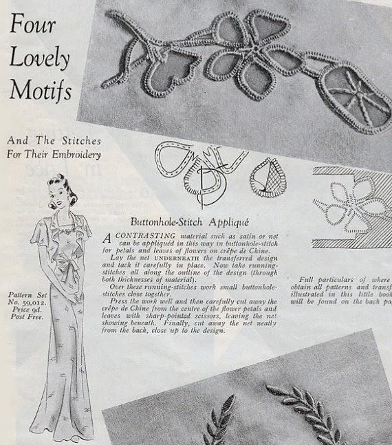 "vintage 1940s lingerie sewing pattern pdf booklet ""Pretty Pretties"" from Mrs Depew"