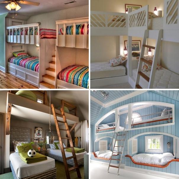 Habitaci n para 4 m s chicos - Habitacion con literas para ninos ...