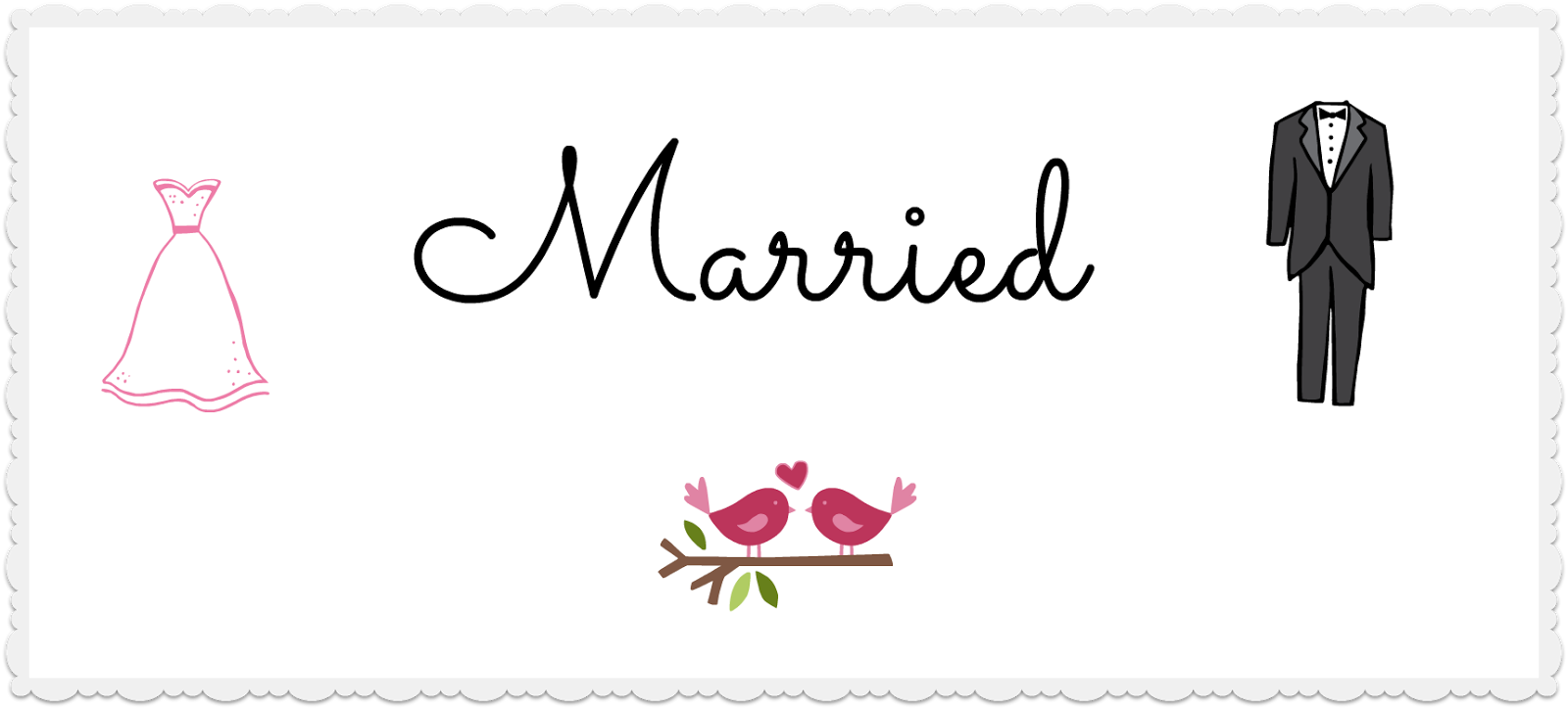 Married - Word of the Week - Raisie Bay