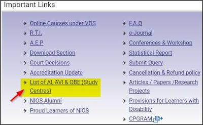 NIOS D.el.ed study cente