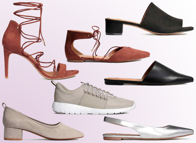 spring summer shoe trends 2016 H&M