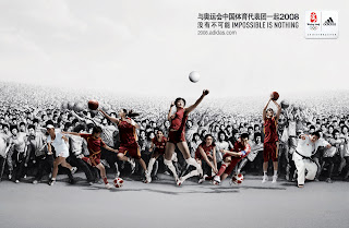 Adidas Volleyball Ads Impossible is Nothing HD Wallpaper