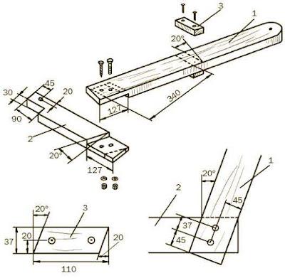 Конструкция стеллажа для доски и фанеры