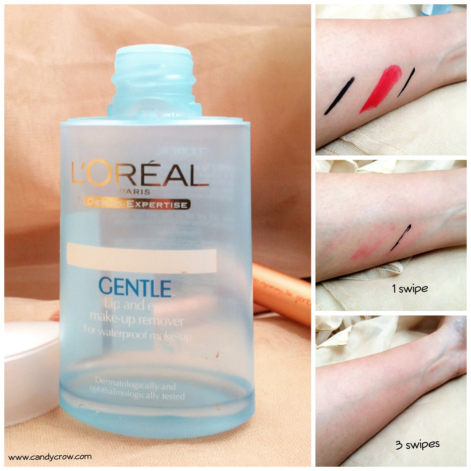 Loreal Gentle Lip And Eye Makeup Remover Review Indian Beauty