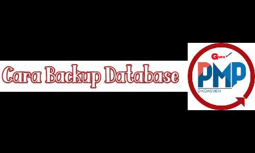 GAMBAR cara backup data pmp 2019