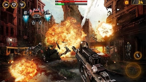 Download Modern Combat 5 Blackout v2.0.0f APK Full + Obb + Mod