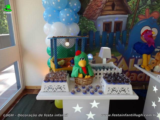 Festa temática infantil da Galinha Pintadinha