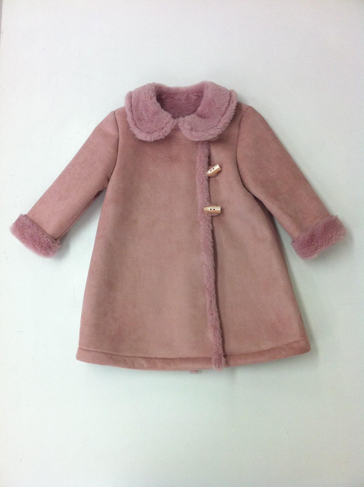 envío directo precios de remate estilos frescos Escuela de Diseño de Moda Marper: Abrigo niña