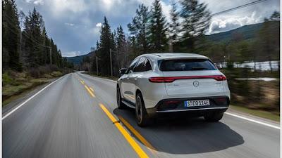 The new Mercedes EQC 2019