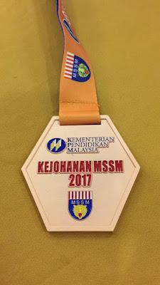 KEJOHANAN GOLF MSSM 2017