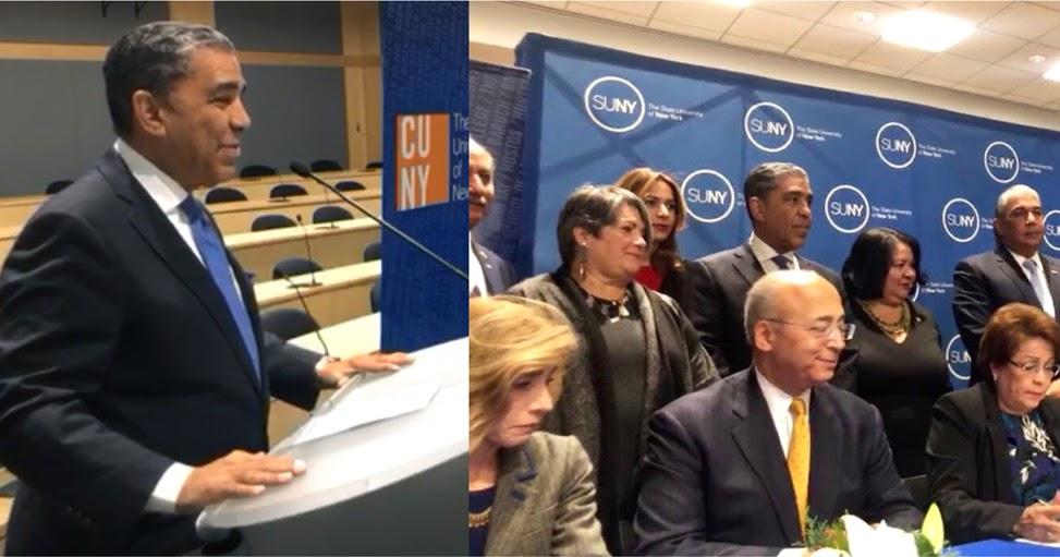 Espaillat anuncia más de 20 mil educadores de RD serán entrenados con acuerdo educativo en NY