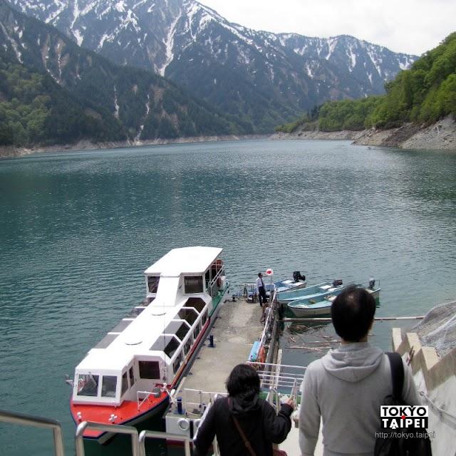 【黑部水壩】搭上遊覽船 從另個角度看傳奇黑部水壩