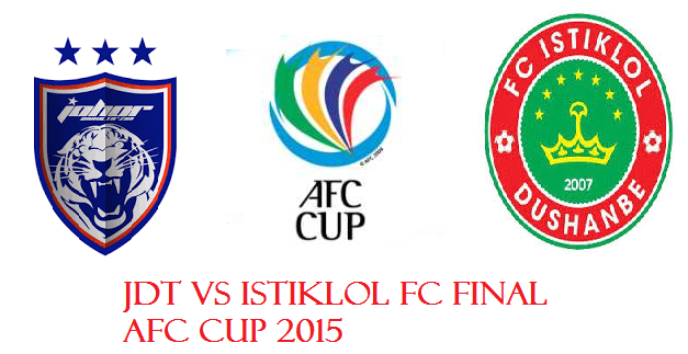 result JDT Vs FC Istiklol Final AFC 2015