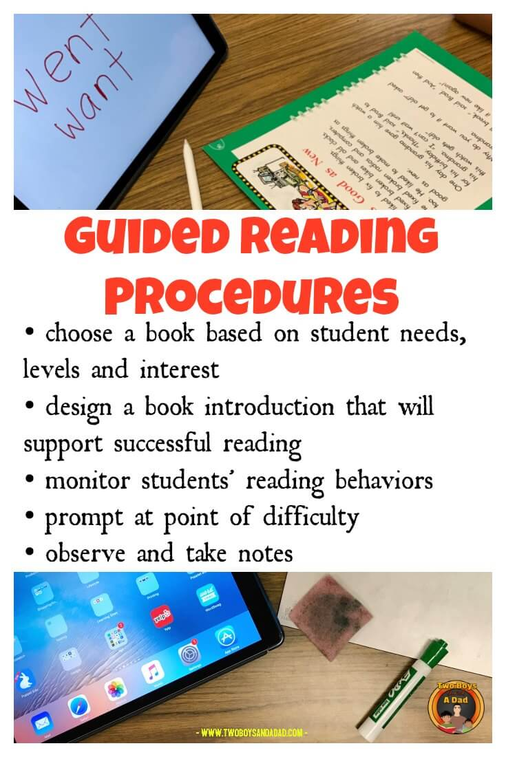 guided reading procedures