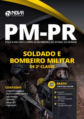Apostila Concurso PMPR 2020 PDF Soldado e Bombeiro PM PR 2020
