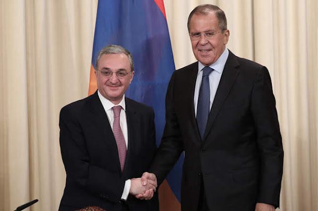 Reunión secreta entre Mnatsakanyan y Lavrov en Moscú