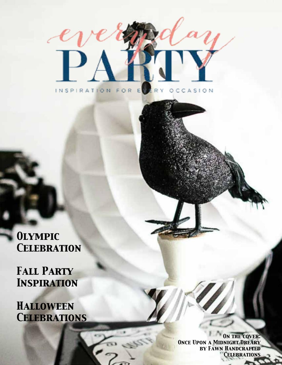 As Seen in Everyday Party Magazine