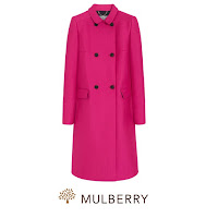 MULBERRY Coat STUART WEITZMAN KIKI McDonough Earrings