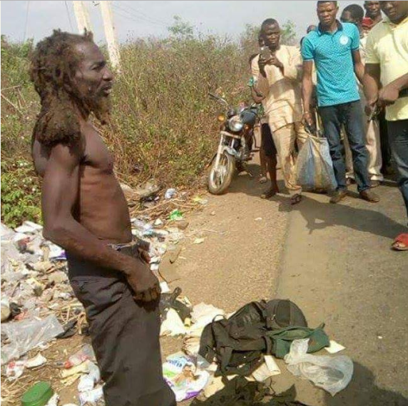 (Pictures) Man Using Baby Pampers For Rituals Caught In Ogun