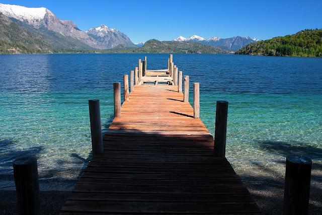 Como é o Lago Moreno