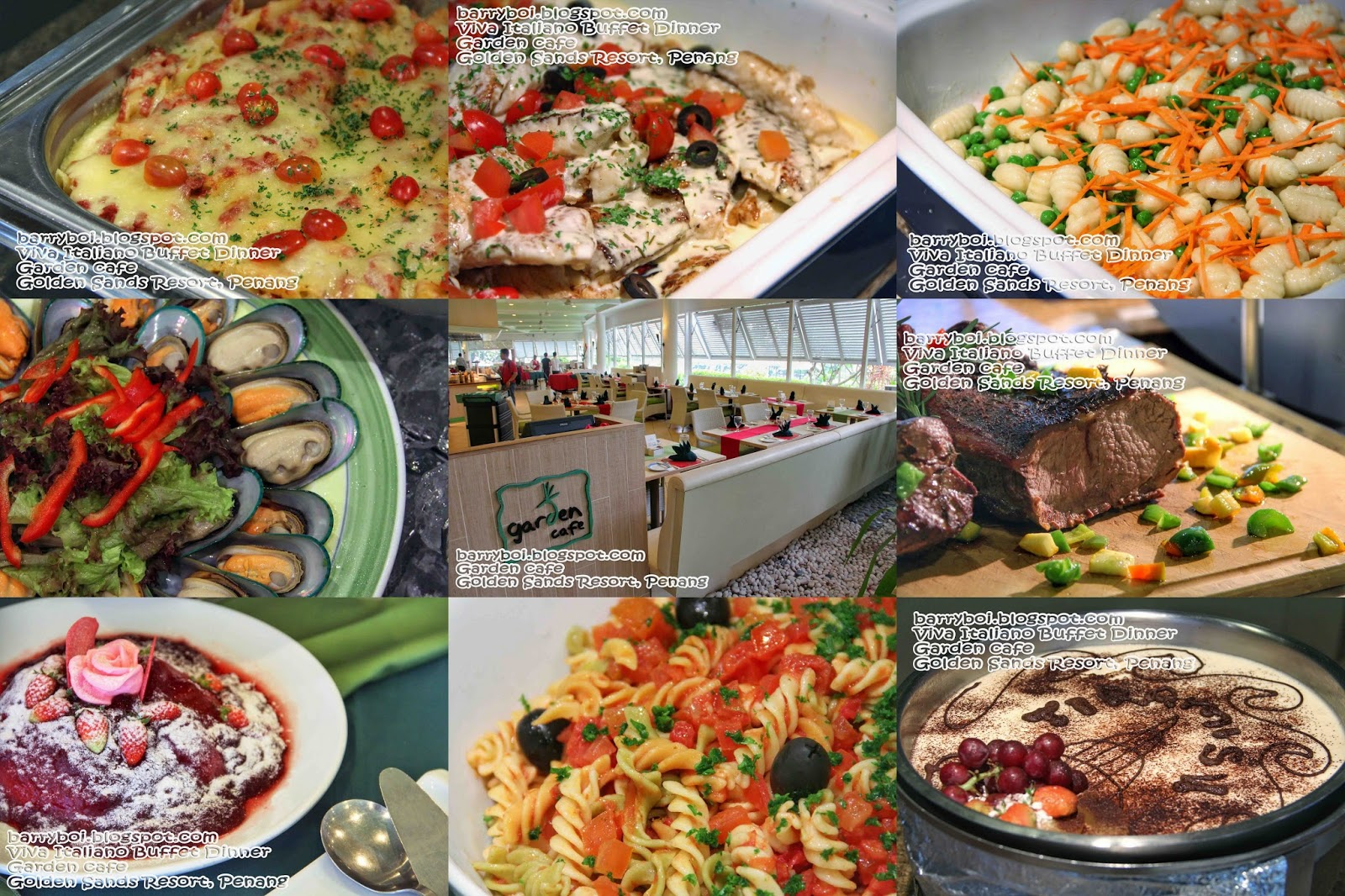 Daily Moments by BarryBoi: Viva Italiano Buffet Dinner at Garden Cafe ...