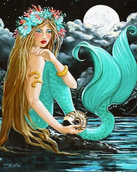 midnight aqua diana martin mermaid