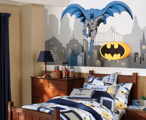 wallpaper dinding kamar tidur anak laki-laki