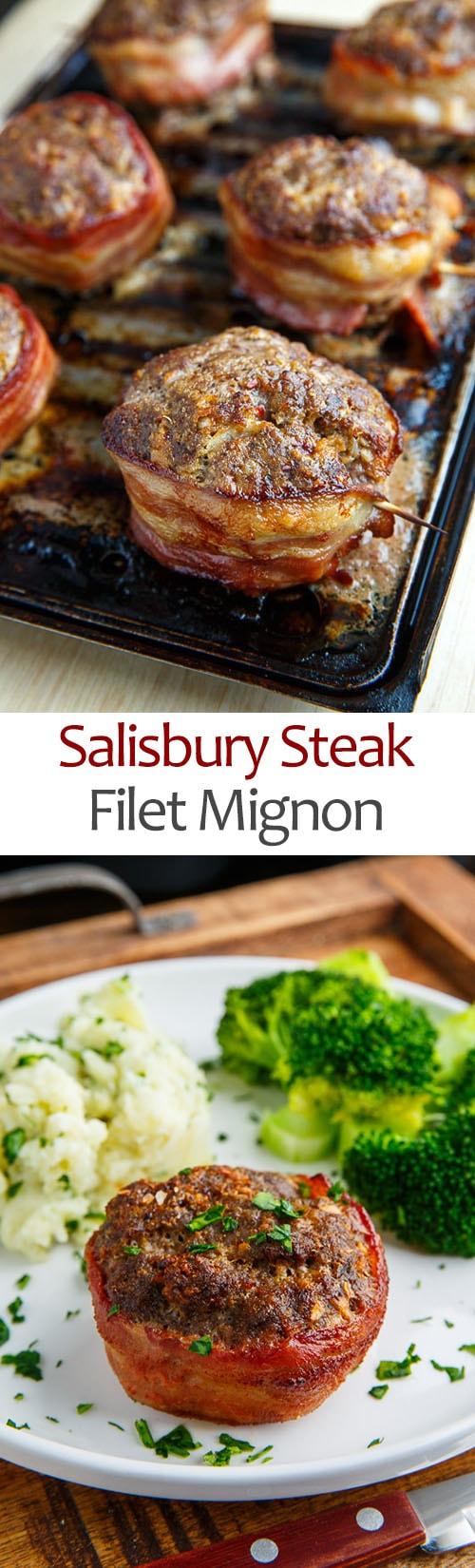 Salisbury Steak Filet Mignon