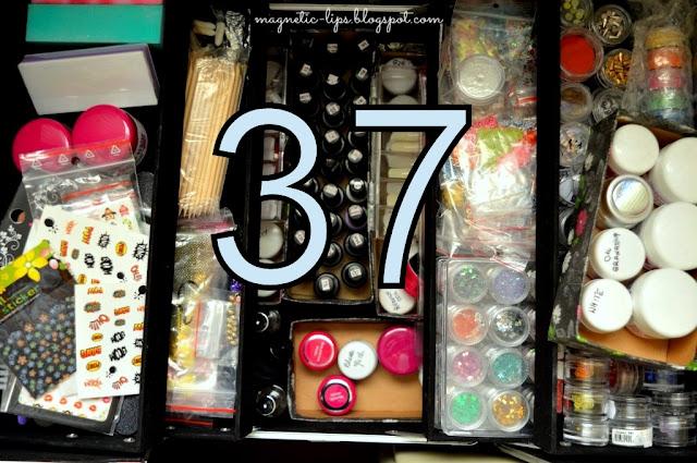 kuferek z kosmetykami blog